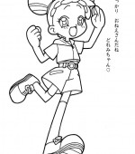 coloriage magical doremi 003